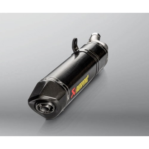 Homologated Akrapovic Carbon Exhaust