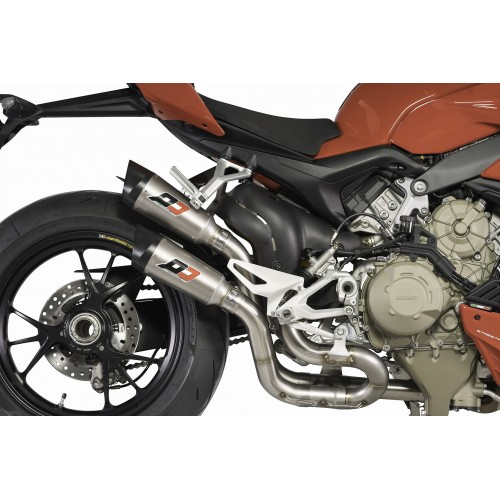 EXHAUST QD APPROVED MULTISTRADA 950 GP STYLE
