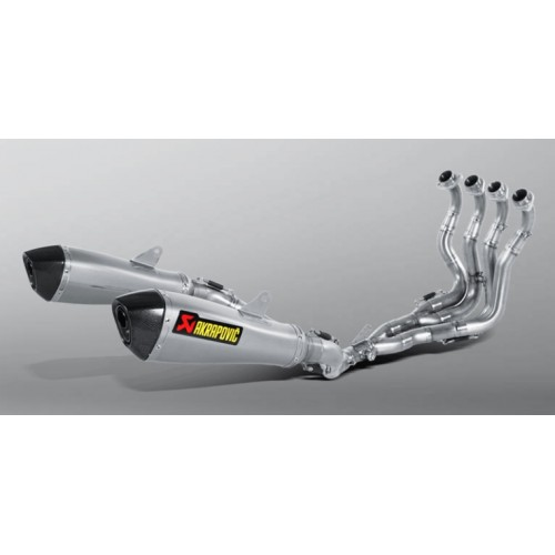 TITANIUM EXHAUST SYSTEM EVOLUTION LINE