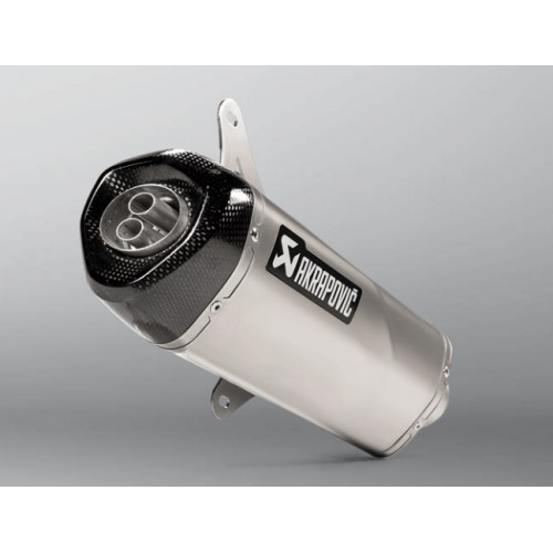 Akrapovic Homologated Black Stainless Steel Exhaust