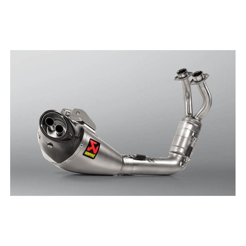 Racing Line Titanium Akrapovic System
