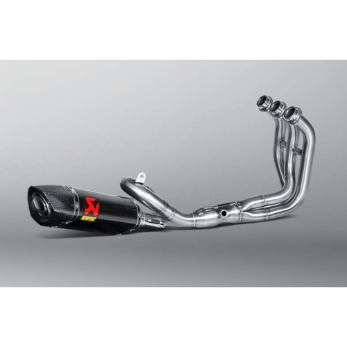 EXHAUST SYSTEM RACING CARBON LINE