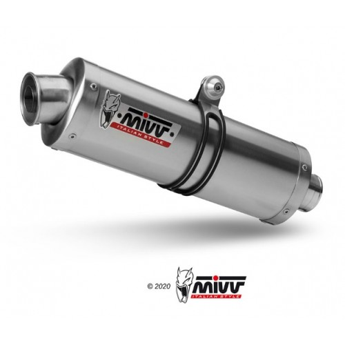Mivv Stainless Steel Oval Exhaust