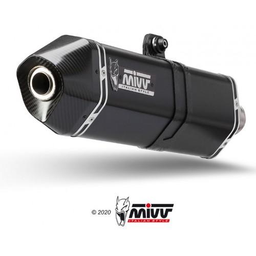 Exhaust Speed Edge Black Stainless Steel Black Mivv