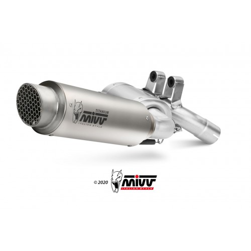 GP Pro Carbon Exhaust Mivv Homologated