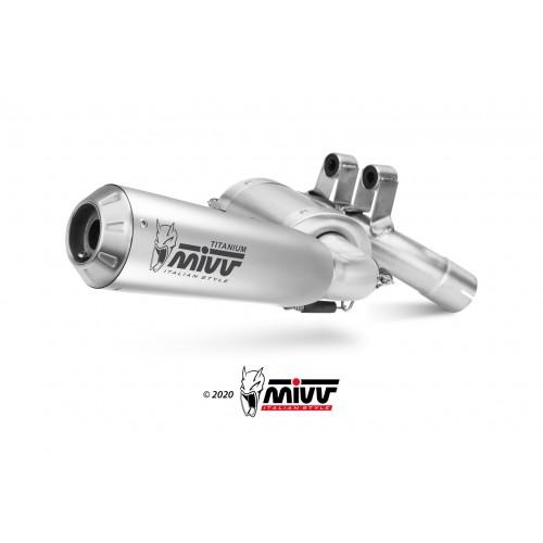 X-M1 Titanium Mivv Homologated Exhaust