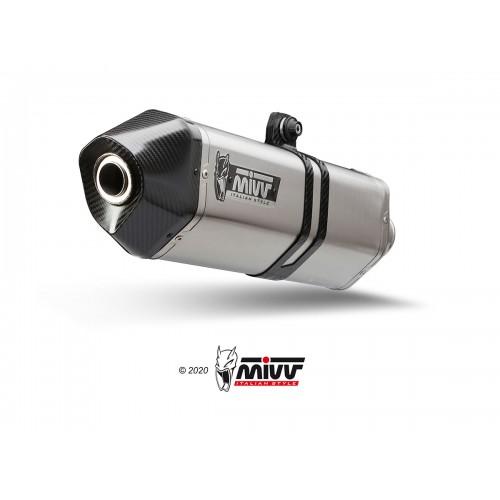 Speed Edge Silencer Stainless Steel Mivv EURO4 Approved