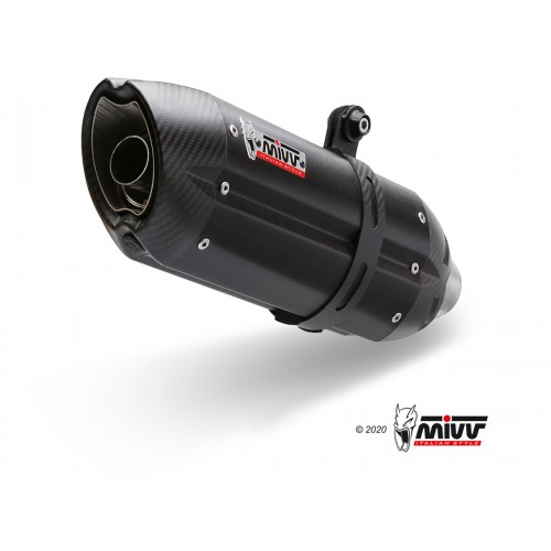 Suono Exhaust Stainless Steel Mivv EURO4 Approved