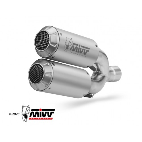 Double Exhaust Mk3 Carbon Mivv Not Approved