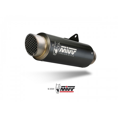 GP Pro Carbon Mivv Homologated Exhaust