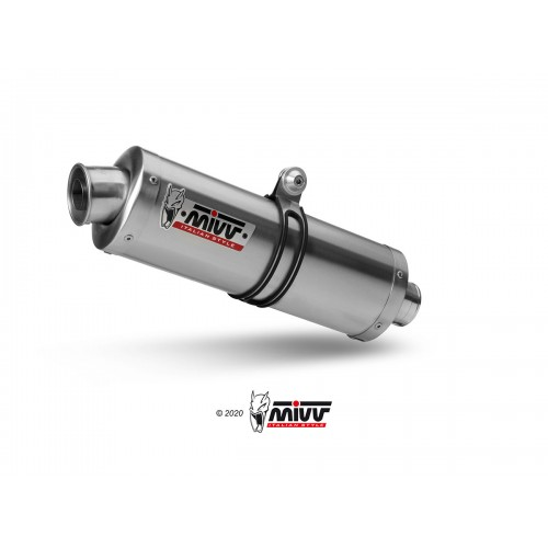Mivv Approved Stainless Steel Oval Exhaust