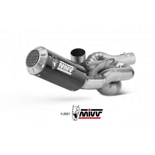Full Carbon Evo Mivv Exhaust Not Approved