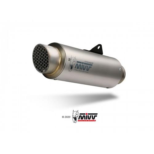 GP Pro Carbon Mivv Homologated Exhaust