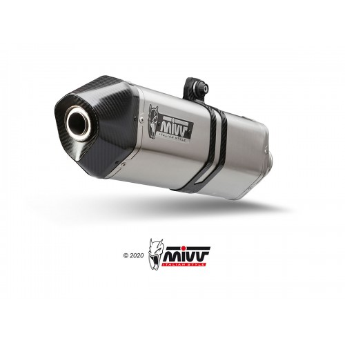 Exhaust Speed Edge Stainless Steel Mivv Approved