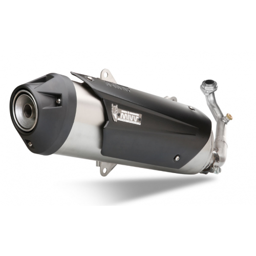 URBAN STAINLESS STEEL EXHAUST MIVV APPROVED