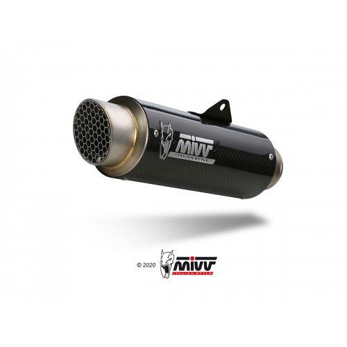 EXHAUST GP PRO APPROVED MIVV GSX 250 R 2017-18