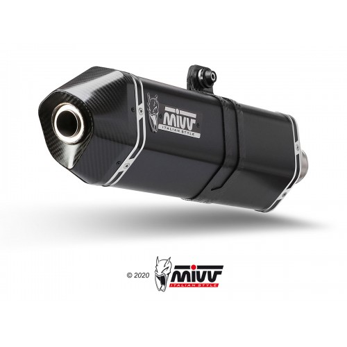 Double Exhaust Speed Edge Stainless Steel Mivv Approved