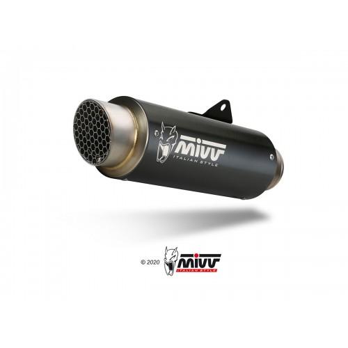 Exhaust Gp Pro Black Stainless Steel Mivv