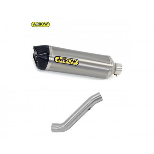 Homologated Arrow Catalyzed Titanium Link Tube