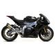 Race-Tech Titanium Exhaust Homologated Carbon Exhaust