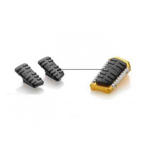 KIT RUBBER FOOTPEGS TOURING