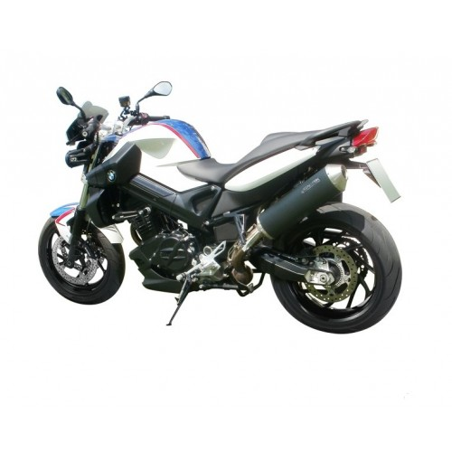 OVAL STAINLESS STEEL SILENT SPARK BMW F 800 R APPROVED